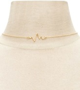 Forever 21 Heartbeat Pendant Necklace