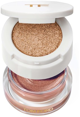 Tom Ford Limited Edition Cream And Powder Eye Colour - Colour Golden Peach