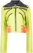 Martina Spetlova classic biker jacket