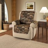 Lodge Recliner and Wing Chair Cover in Brown