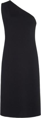 Bottega Veneta One-Shoulder Cady Dress