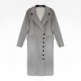 Joseph Grey Cashmere Coat for Women