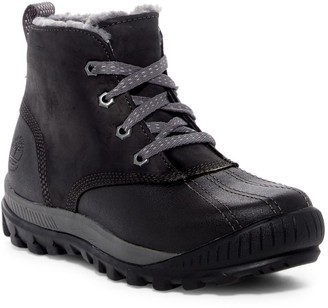 Timberland Mt. Hayes Chukka Faux Fur Lined Waterproof Leather Boot