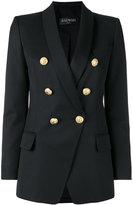 Balmain double breasted blazer - women - Cotton/Viscose/Wool - 38