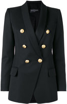 Balmain double breasted blazer - women - Cotton/Viscose/Wool - 40