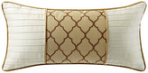 "Marquis by Waterford Russell Square 11""x22"" Decorative Pillow"