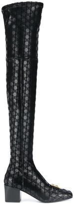 Balmain Rosalyn thigh-high boots