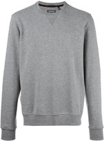Woolrich embossed logo sweatshirt - men - Cotton/Polyester - L