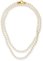 Elizabeth Locke Serena Long Pearl Necklace, 35""