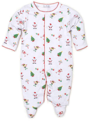 Kissy Kissy Holidaze Pima Footie Playsuit, Size Newborn-9 Months