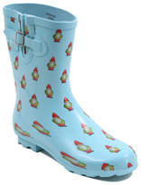 George Garden Gnomes Print Wellington Boots