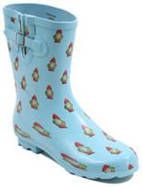 George Garden Gnomes Print Wellington Boots