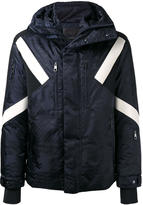 Neil Barrett geometric padded jacket - men - Cotton/Nylon/Polyamide/Polyester - M