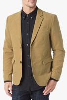 7 For All Mankind Moleskin Blazer In Camel