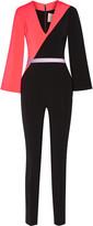 Roksanda Malkyn two-tone stretch-cady jumpsuit