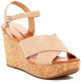 Lucky Brand Maclaine Platform Wedge Sandal