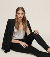 Reiss Stevie - Low-rise Skinny Jeans in Black, Womens