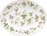 Wedgwood Wild Strawberry Oval Platter - 13.75