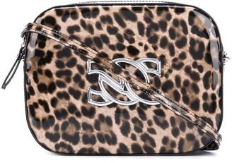 Casadei Leopard Print Mini Shoulder Bag