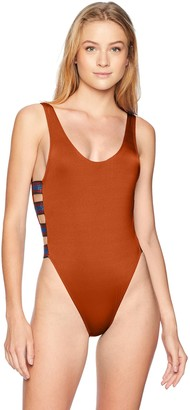 Bikini Lab Junior's Side Strappy One Piece Swimsuit