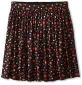 Dolce & Gabbana Back to School Floral Print Skirt (Big Kids)