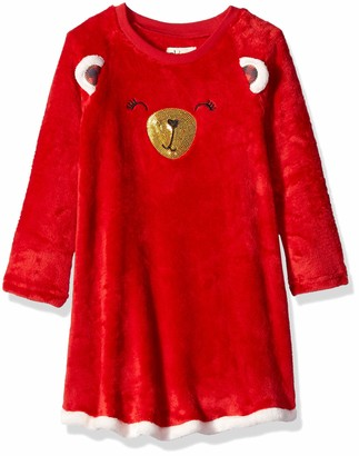 Petit Lem Girls' Little Holiday Nightgown Comfortable Cute and Cozy Softness