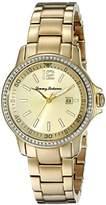 Tommy Bahama Women's 10018328 Island Breeze Analog Display Japanese Quartz Gold Watch