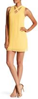 Amy Byer A. Byer X-Neck Shift Dress
