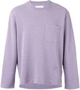 Our Legacy patch pocket sweatshirt - men - Cotton/Linen/Flax - L