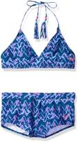 "Roxy Big Girls' ""Wave Rider"" 2-Piece Bikini"