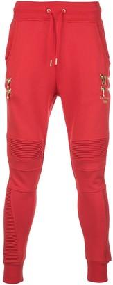 Puma x Balmain biker track pants