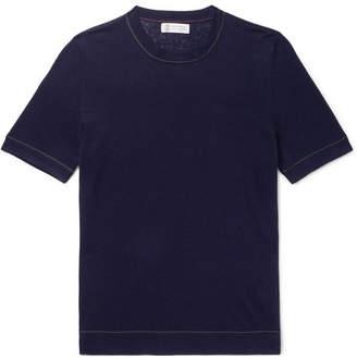 Brunello Cucinelli Linen And Cotton-Blend T-Shirt