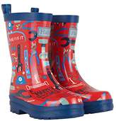 Hatley Boys' Printed Rain Wellington Boots,10 Child UK 27 EU