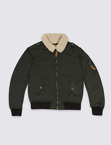 Marks and Spencer Bomber Jacket with StormwearTM (3-14 Years)