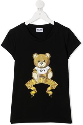 MOSCHINO BAMBINO TEEN Teddy Bear T-shirt