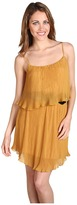 Type Z Abel Chiffon Dress (Mustard) - Apparel