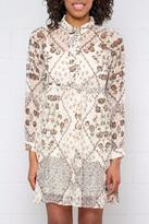 Vero Moda Sheer Floral Dress