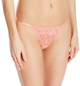 Betsey Johnson Women's Starlet Lace String Thong Panty
