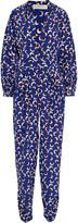 Stella McCartney Monia printed silk crepe de chine jumpsuit