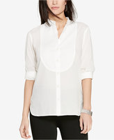 Lauren Ralph Lauren Sheer Patterned Tunic
