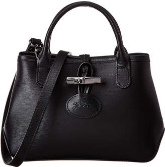 Longchamp Roseau Small Leather Crossbody