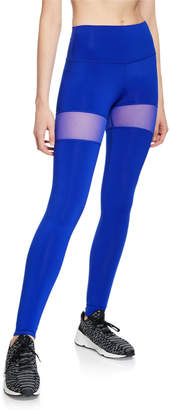 Alo Yoga High-Waist Mesh Insert Leggings