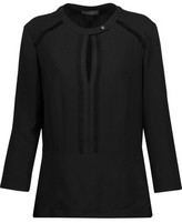 Belstaff Lilly Frayed Crepe Top