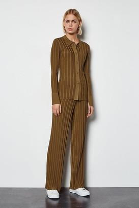 Karen Millen Wide Rib Knit Trousers