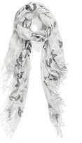 Nordstrom Women's Fauvist Forest Scarf