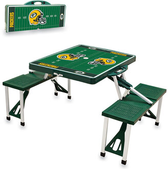 Picnic Time Green Bay Packers Picnic Table