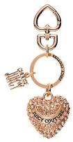 Juicy Couture Metal Heart Keyfob