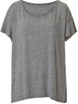 Heather Grey Vintage Oversize T-Shirt
