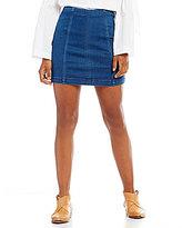 Free People Denim Modern Femme Mini Skirt