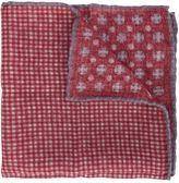 Brunello Cucinelli checked patterned pocket square